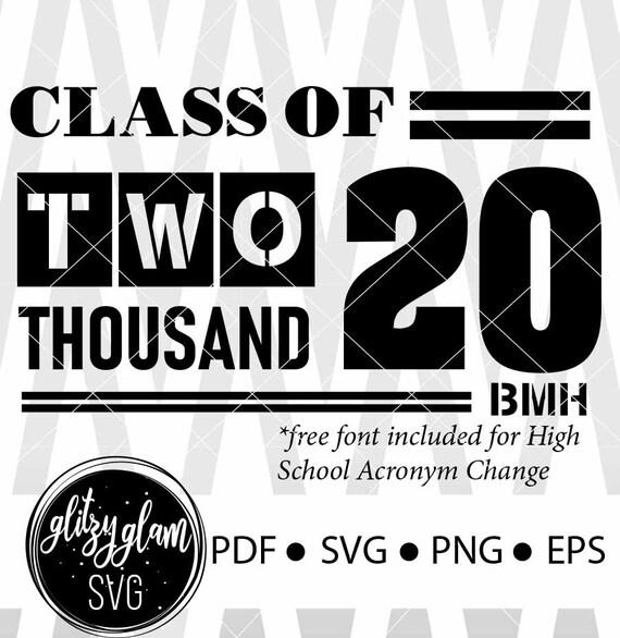 Class Of 2020 Senior Svg Grad Svg Grad 2020 Svg Graduation Etsy