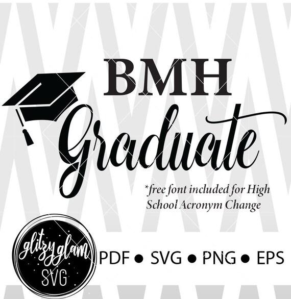 Graduate Svg T Shirt Design Class Of 2019 Senior Svg Grad Etsy