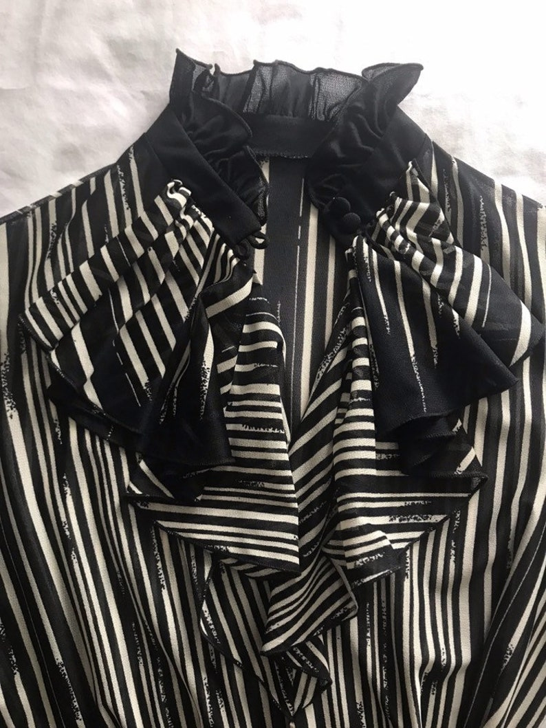 Black and White 60s Suit