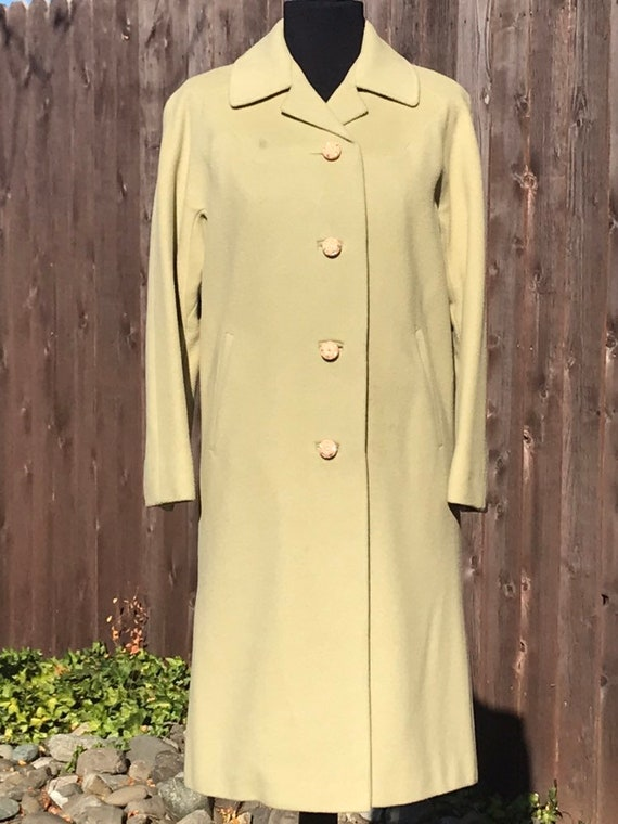 Green Cashmere 50s Coat