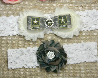 89b4b6532 Wedding Garter Set