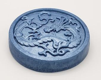 Dragon Shaped Homemade Soap, Favor Soap, Artisan Soap, Glycerin Soap, Scented Soap