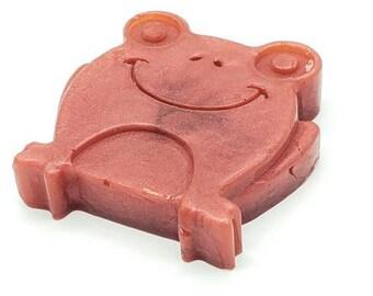 Red Frog Homemade Soap, Novelty Soap, Artisan Soap, Kids Soap, Scented Soap, Glycerin Soap