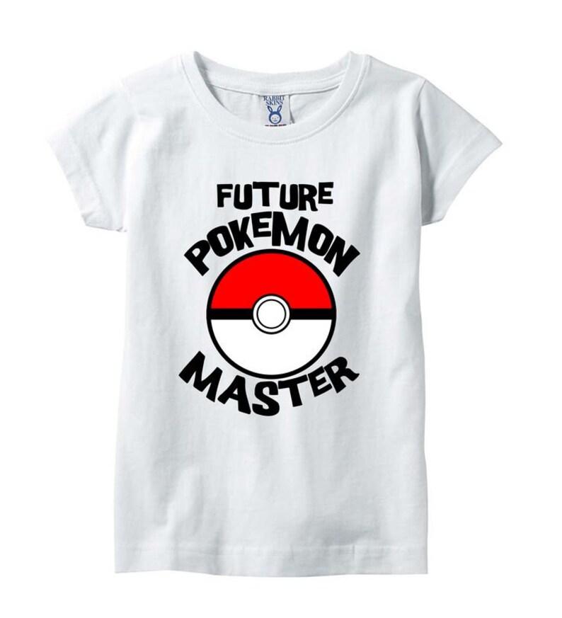 f6034008 Future Pokemon Trainer Shirt Pokemon Go Shirt Pokemon Shirt   Etsy