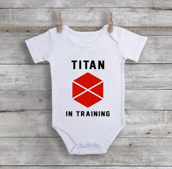 Destiny 2 Onesie Titan In Training Destiny2 Bodysuit Gamer Etsy