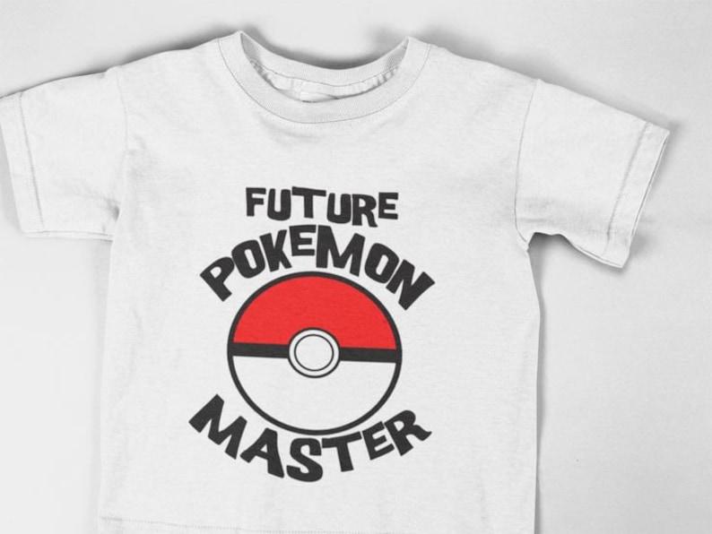 45d9be08 Future Pokemon Trainer Shirt Pokemon Go Shirt Pokemon Shirt | Etsy