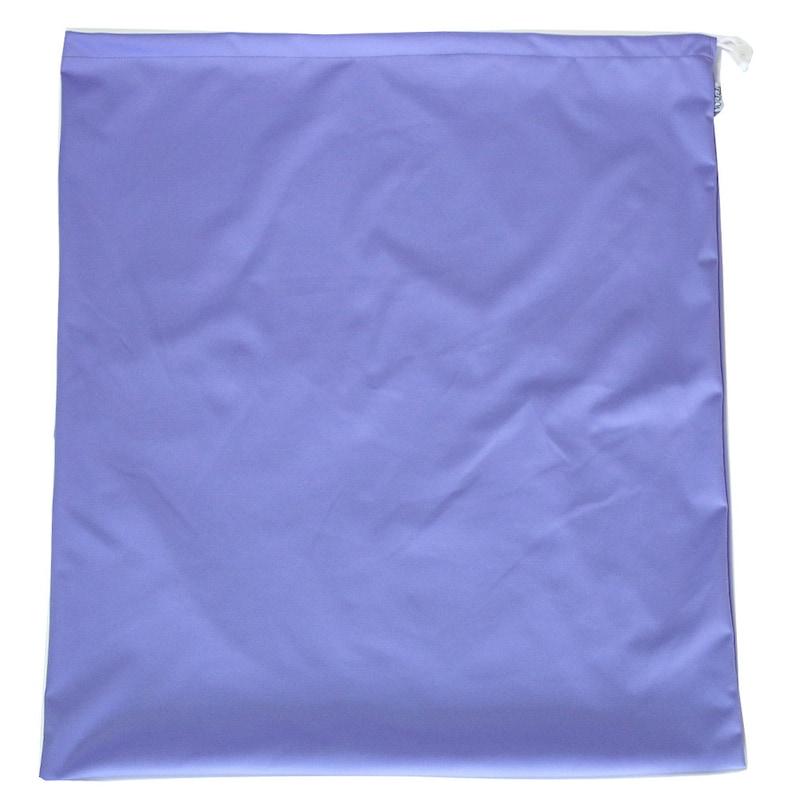 Violet Drawstring Waterproof Wet Bag