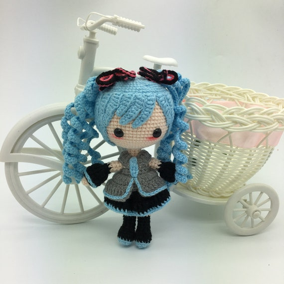 Anime Crochet Doll | Crochet dolls, Crochet doll, Knitted dolls | 570x570