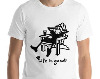 Life is good shirt | Etsy