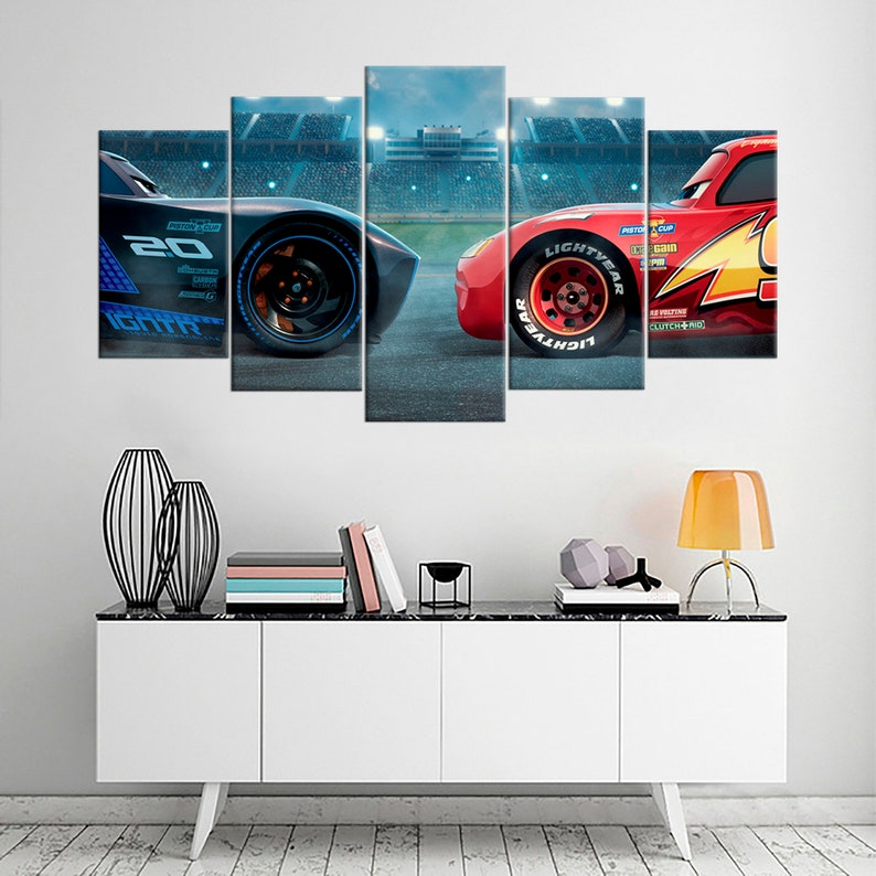 CANVAS The Cars Art print POSTER