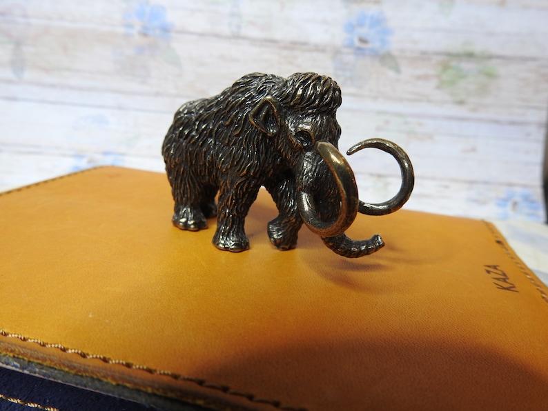 Bronze figurine mammoth