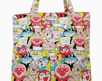 5ec0934510 Anpanman Tote Bag - Back in stock!