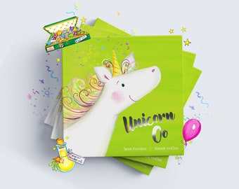 Unicorn Oo - Personalised Children's Story Book from Bang on Books