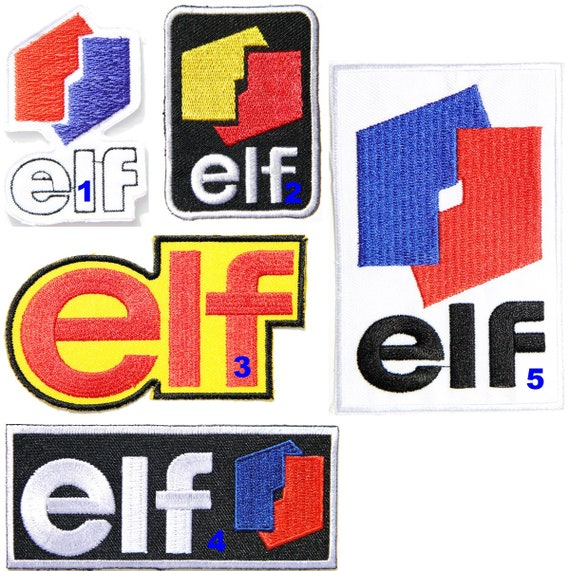 For ELF Sport Racing Oil Motor P495 Embroidered Iron on Patch High Quality New
