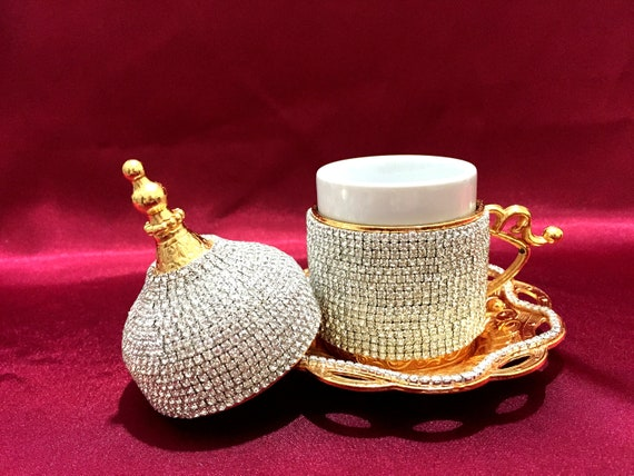 Gift Sugarspoo Wedding Gift Handmade Turkish cup Cup Sets Arabic Coffee Cup Espresso Serving Set Turkish Coffee Cup Remarkable Sets