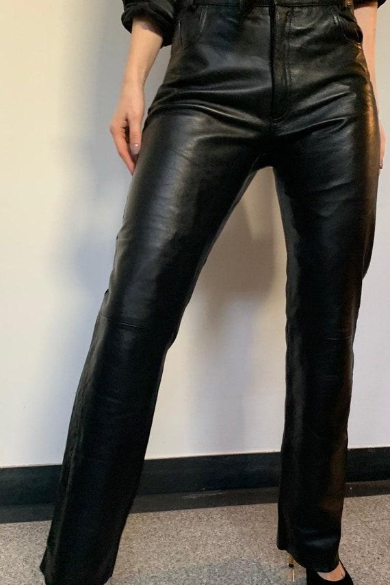Vintage Leather Pants Pants