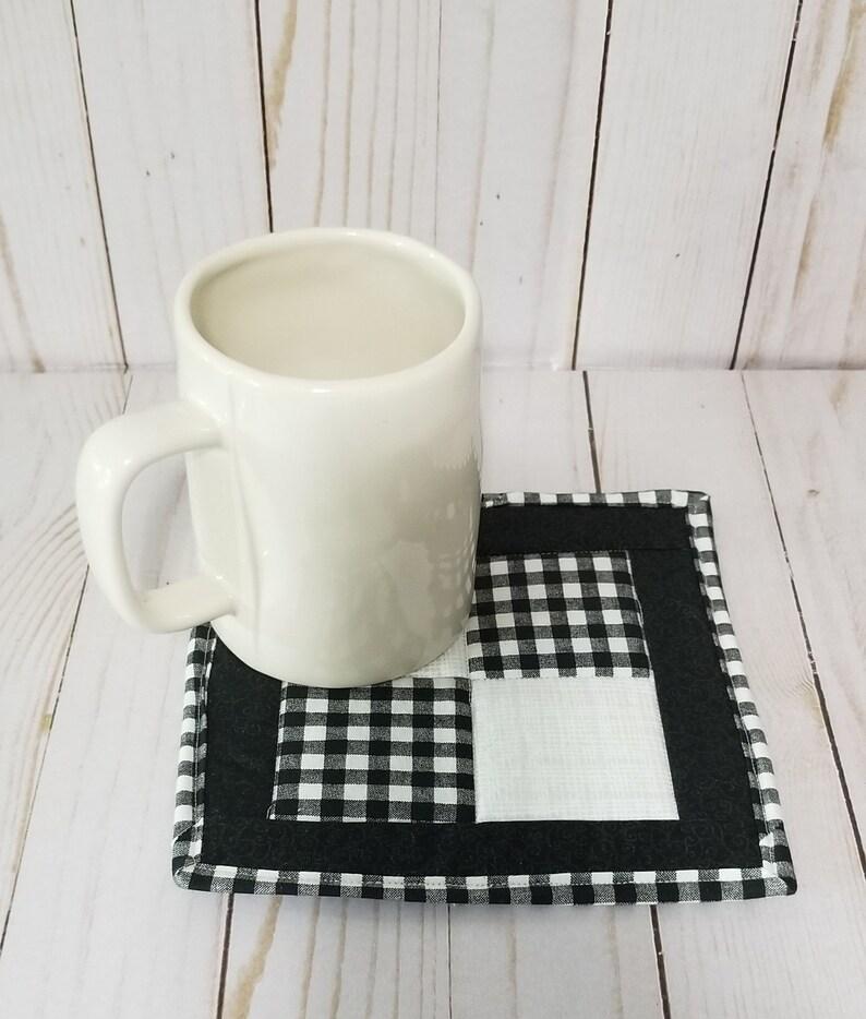 Mug Rug Quilted Mug Rug Quilted Coaster Coaster
