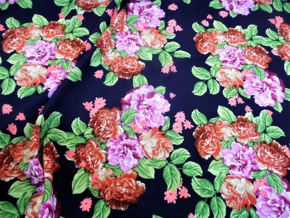 Printed Liverpool Textured Fabric 4 way Stretch Scuba Cheetah Dark Brown L608