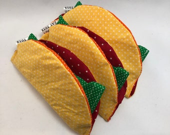 Refillable Catnip Crinkle Taco Cat Toy | Crinkle Cat Toy with Organic Catnip and Silvervine