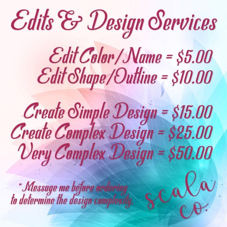 Edit & Design Services, Graphic Design, Photoshop, SVG Files, EPS Files,  PNG Files