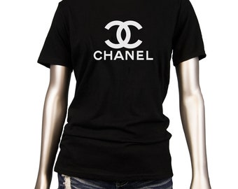 cc Chanel Women s fitted t shirt tee top ede697fccde