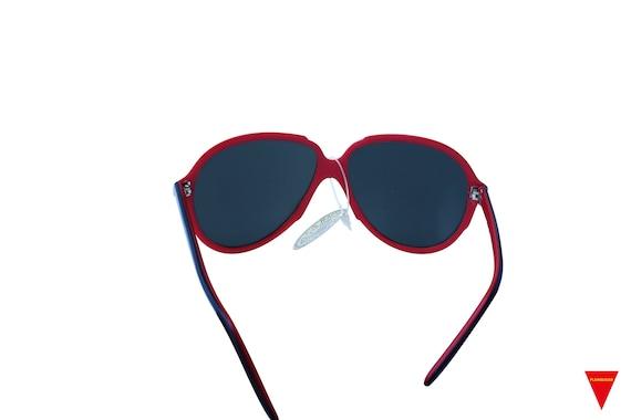 Mirrored Aviator Sunglasses, Women's Original 70'… - image 5