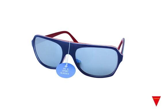 Mirrored Aviator Sunglasses, Original 70's Vintag… - image 3