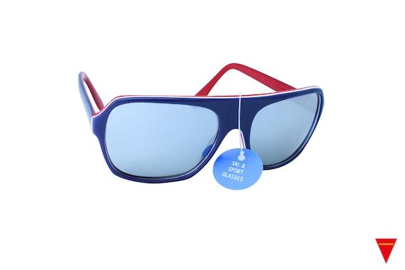 Mirrored Aviator Sunglasses, Original 70's Vintag… - image 2