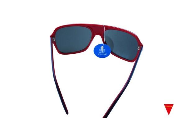 Mirrored Aviator Sunglasses, Original 70's Vintag… - image 5
