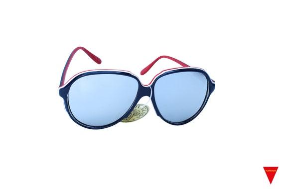 Mirrored Aviator Sunglasses, Women's Original 70'… - image 2