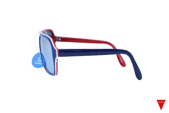 Mirrored Aviator Sunglasses, Original 70's Vintag… - image 4