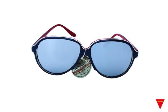 Mirrored Aviator Sunglasses, Women's Original 70'… - image 1