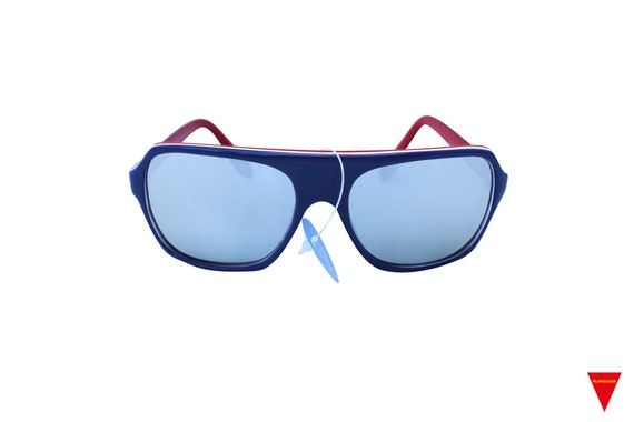 Mirrored Aviator Sunglasses, Original 70's Vintag… - image 1
