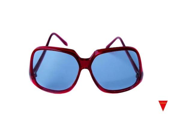 Original 1970's Beautiful Oversized Vintage Red S… - image 1