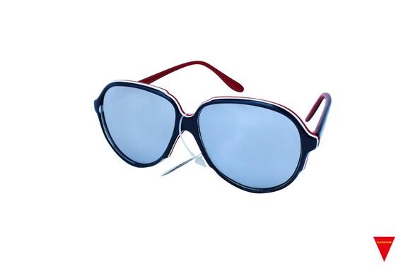 Mirrored Aviator Sunglasses, Women's Original 70'… - image 3