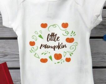 4c38a07534e Little Pumpkin Baby Bodysuit