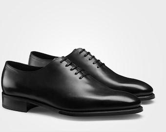 df1d9752ac159 Handmade Bespoke Whole-Cut Leather Shoe