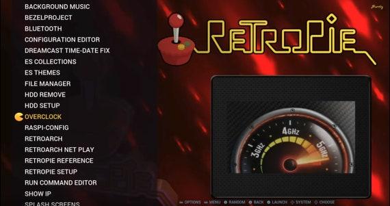 64/128GB Pi3 B+ Attract mode! CD based 3400+ game Playstation/Sega  CD/DreamCast!