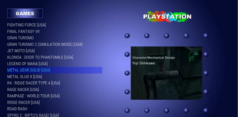 RetroPie with Playstation Classic PSX PS1 32GB/64GB/128GB/256GB SD Card for  Pi3B/3B+ up to 500 Games!