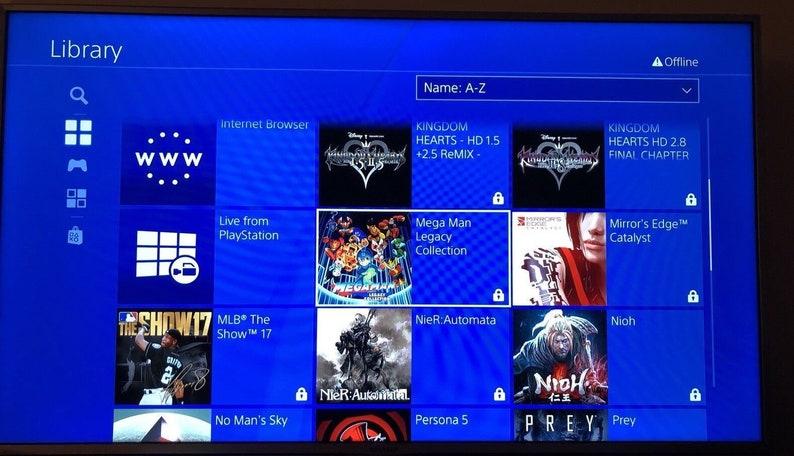 Sony PS4 2/4/8tb Hard Drive PS4 Games & DLCs USB Ready US/EU