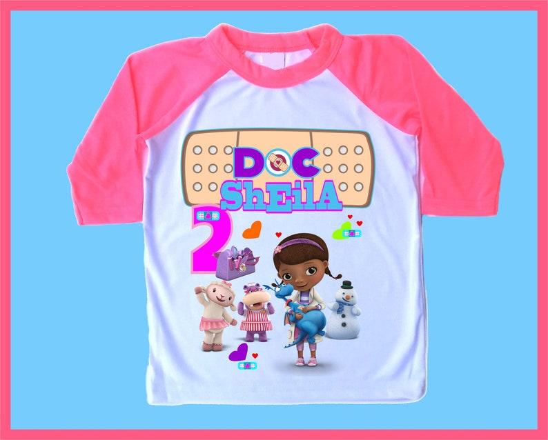 Doc Mcstuffing Long Sleeve T-Shirt Age 3-4