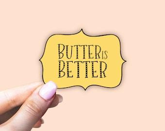 pro metabolic sticker, butter sticker, food sticker, ray peat sticker