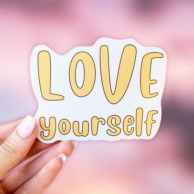 Mental Health Stickers Waterbottle Stickers Aesthetic Stickers Laptop Stickers Positive Stickers Self Love Stickers