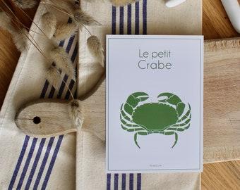 Postcard Crab