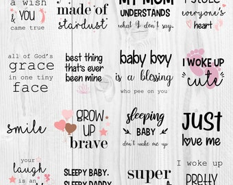 Baby Quotes Etsy