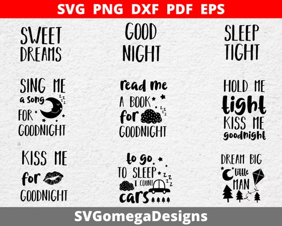 9 Baby Designs Svg Png Dxf Eps Pdf Cutting Files For Etsy
