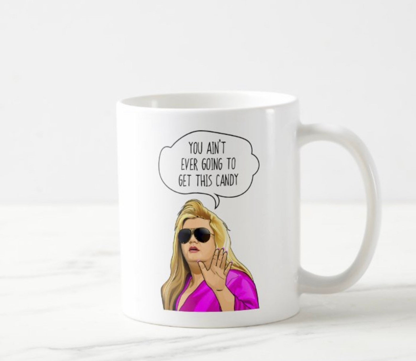 gemma collins you aint ever going to get this candy mug  etsy
