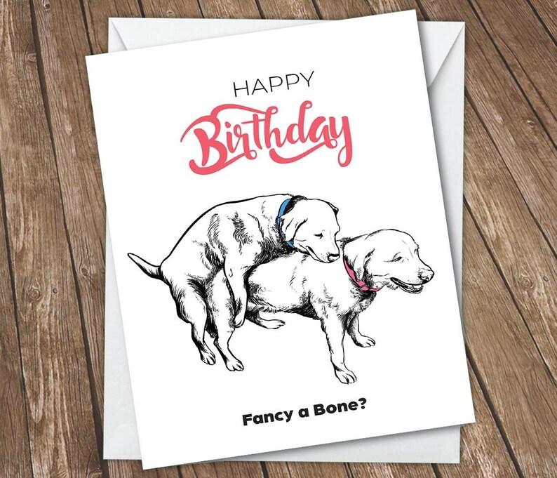 Funny Birthday Card For Boyfriend Girlfriend Rude