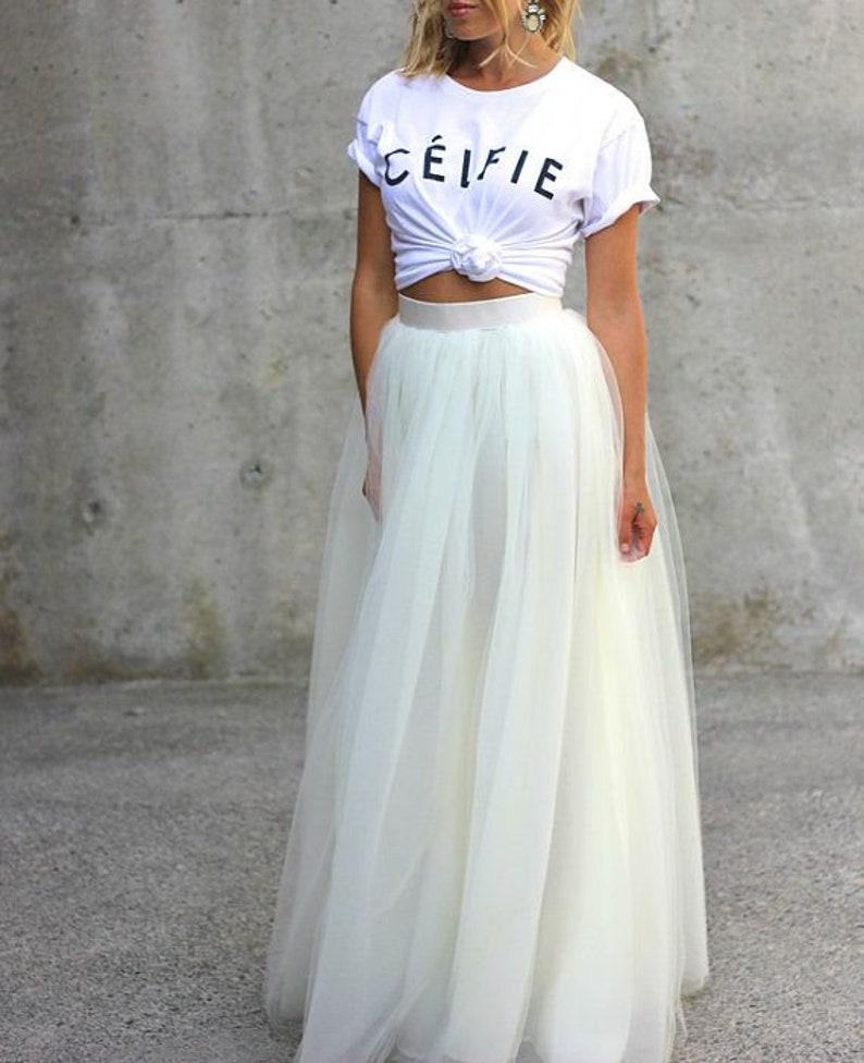 5798e02004 Maxi Skirt Ball Skirt Long Skirt High Waist Skirt Boho