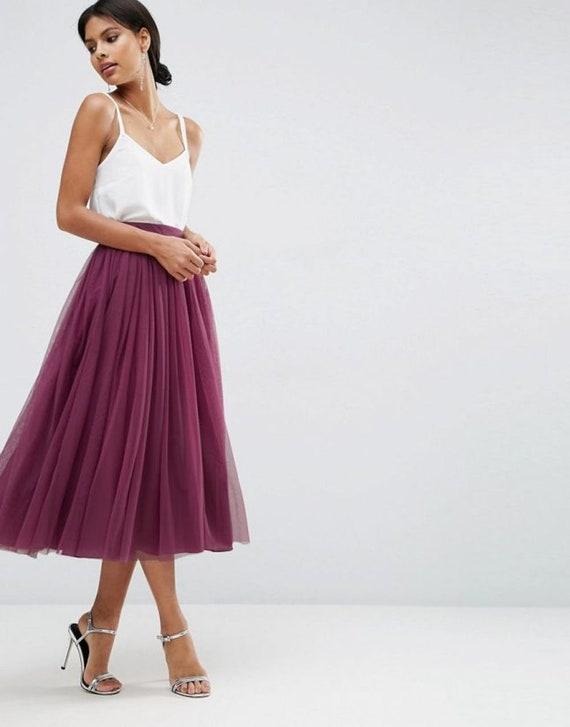 de maxi Faldas Falda para de tutú vestido de mujer novia personalizado de tul vm0n8wON